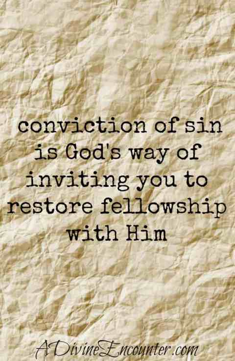 Eye-opening post considering the purpose behind conviction of sin. Rather than avoiding it, Christians should embrace it & return to relationship with God. (Psalm 51) https://adivineencounter.com/convicted