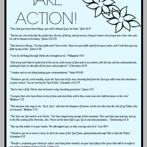 15 Scriptures About Taking Action