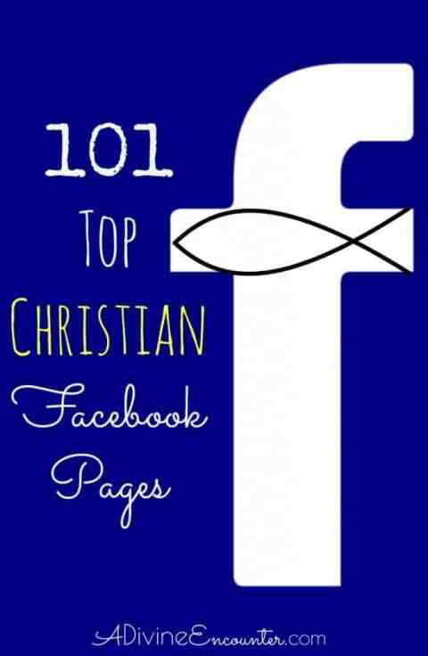 Fill your newsfeed with truth, encouragement, and inspiration from the top Christian Facebook pages!