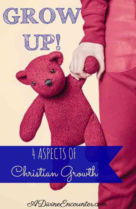 Let's Grow Up! - 4 Aspects of Christian Growth (A Divine Encounter)