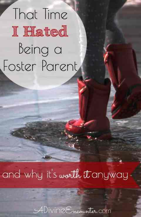 Raw and honest post considers the sacrifices required in being a foster parent, and why it's still a worthwhile endeavor for Christian families.