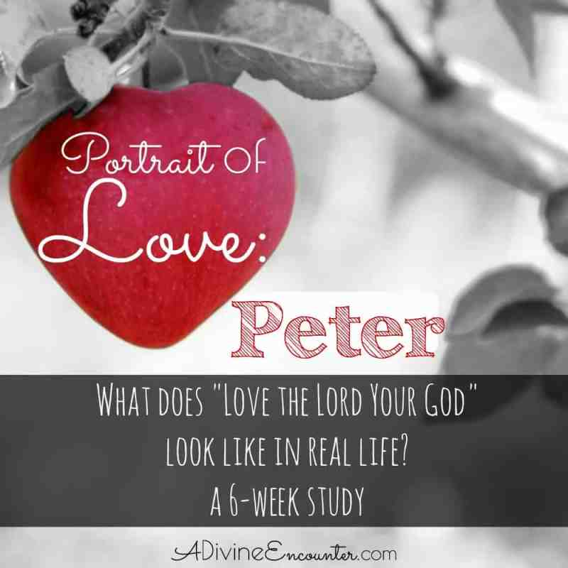What does it look like to love God with all our hearts, as He commands? Brief Bible study on Peter looks at his example of demonstrating love for God.