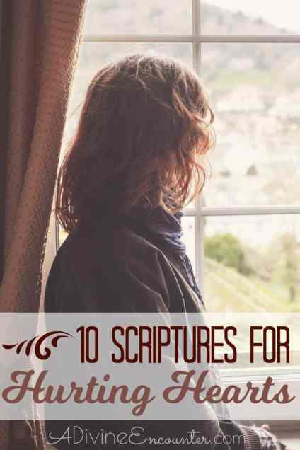 10 Bible Verses for Hurting Hearts