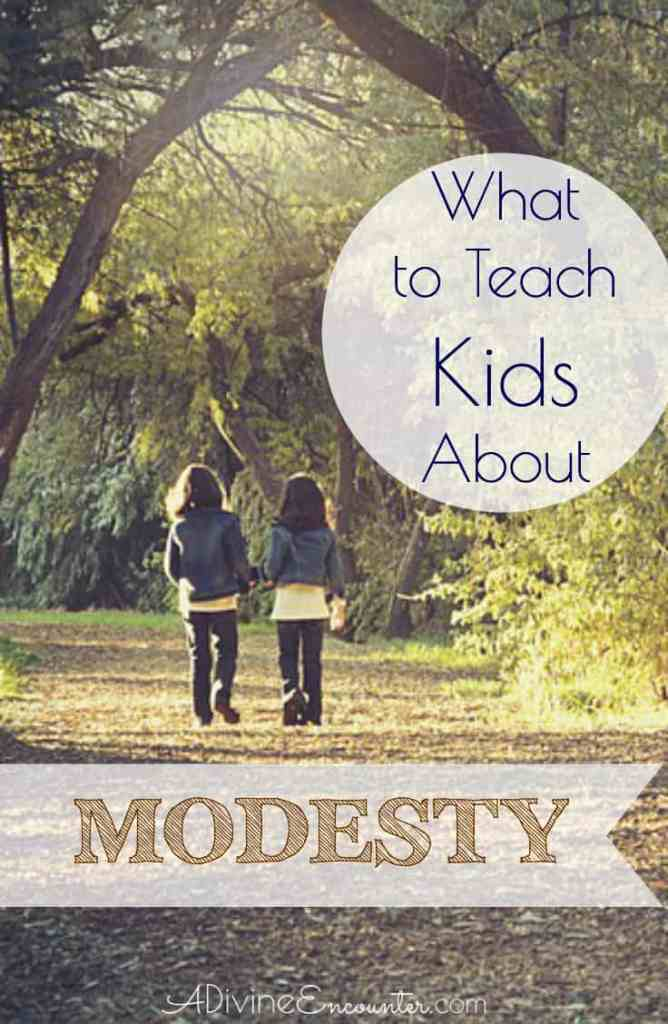 Is it possible for Christian parents to raise modest children in the midst of an immodest world? Here's great advice about what to teach kids about modesty.