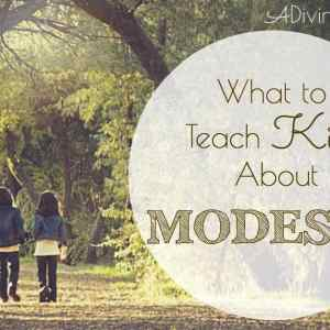 What to Teach Kids About Modesty