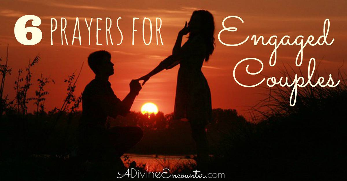Prayer for engagement ceremony