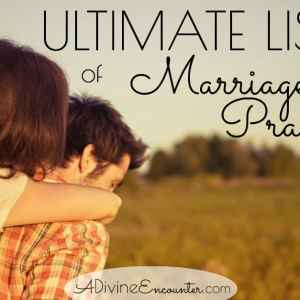 Praying the Scriptures: Prayers for Christian Marriage