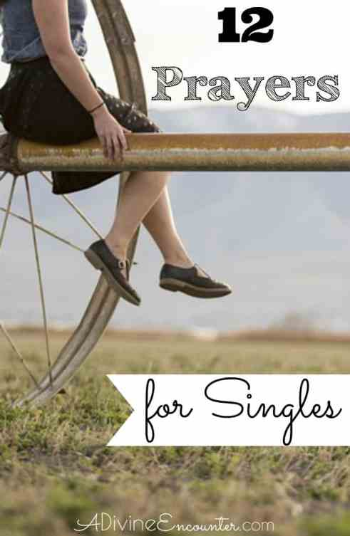Are you a single Christian who longs to serve God in your life, or do you know a single who fits this description? Here are 12 biblical prayers for singles.