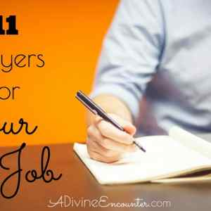 Praying the Scriptures: Prayers for Your Job