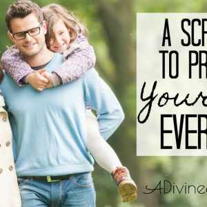 A Scripture To Pray For Your Kids Every Day