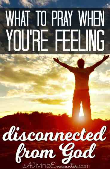 Have you been feeling disconnected from God? All Christians experience this feeling at times. This honest post explores how a simple prayer can change our hearts, how God changes our desires, and how closeness can be restored.