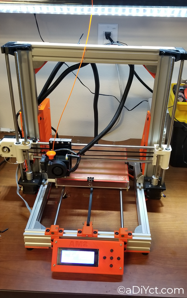 Anet A8 – AM8 Aluminum Frame Build – aDiYct