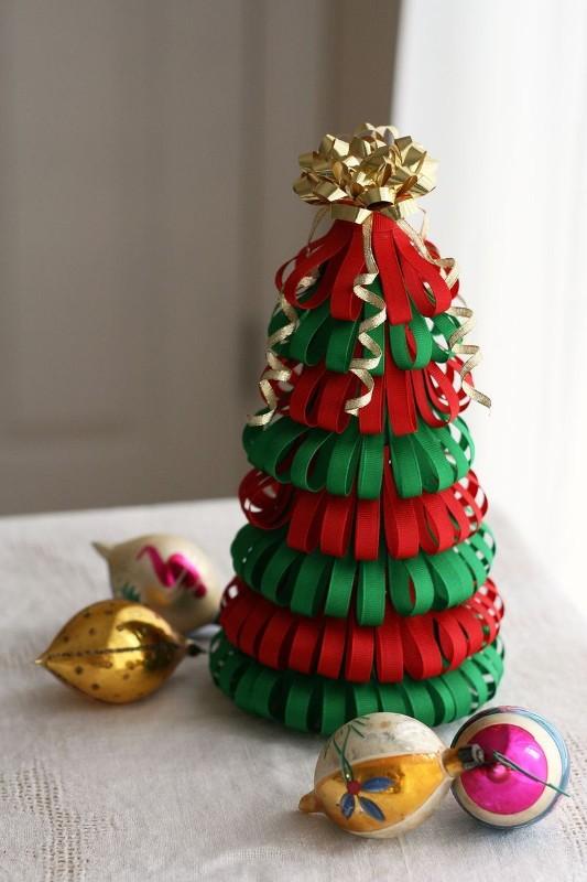 Merveilleux Paper Christmas Tree Decorations