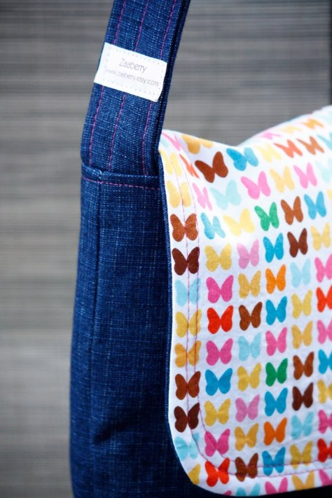 DIY Kid's Messenger Bag