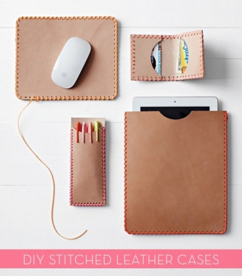 DIY Leather Cases