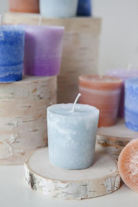 DIY Votive Candles