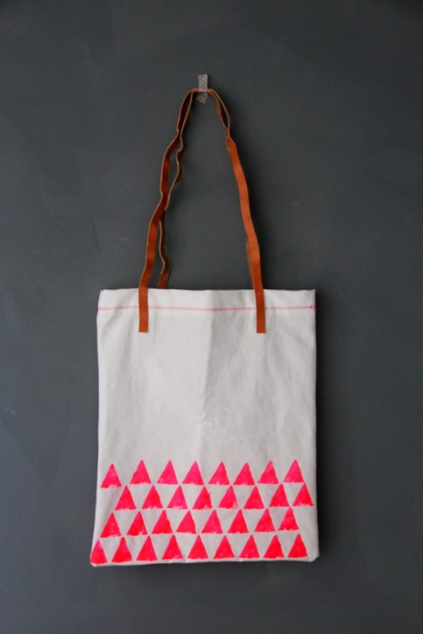 DIY Statement Tote Bag