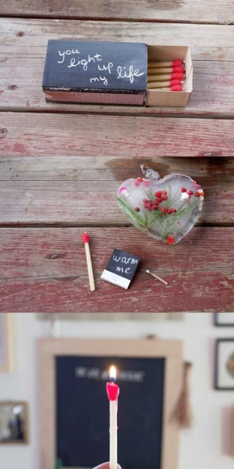DIY Matchstick Beeswax Candles