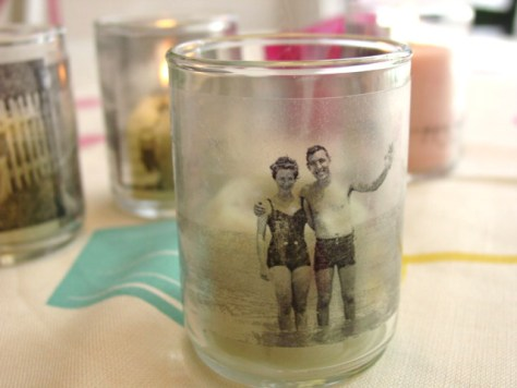 DIY Memory Candles