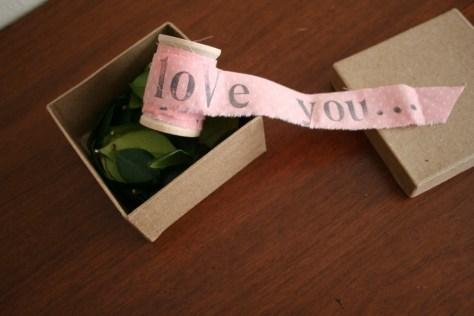 A DIY Unraveling Letter