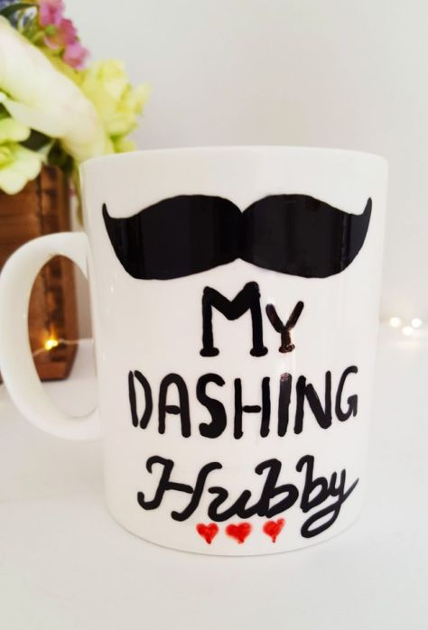 My Dashing Hubby Personalized Mug