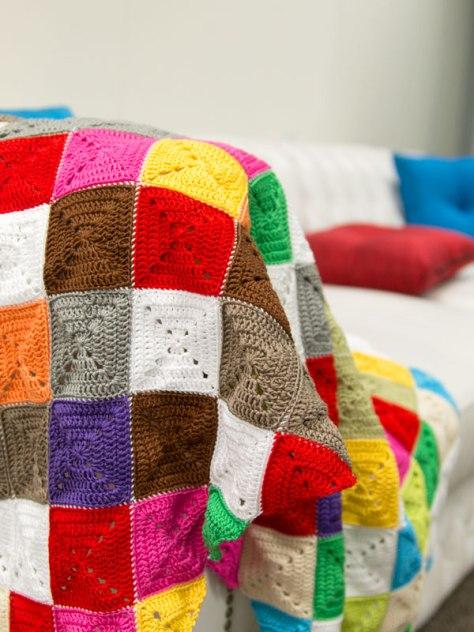 Crochet a Lap Rug