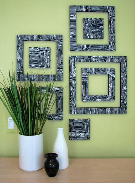 DIY Wall Art From Foam Board