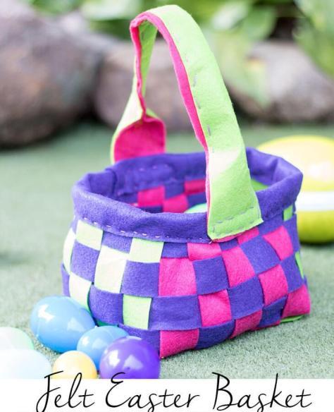 Felt Easter Basket