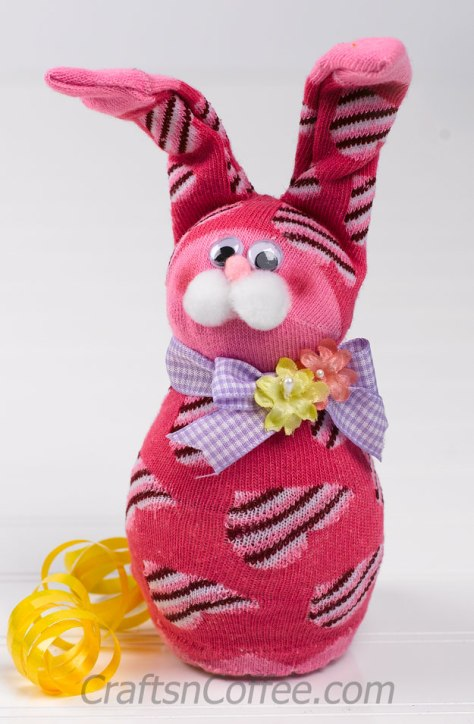 Silly Sock Bunny