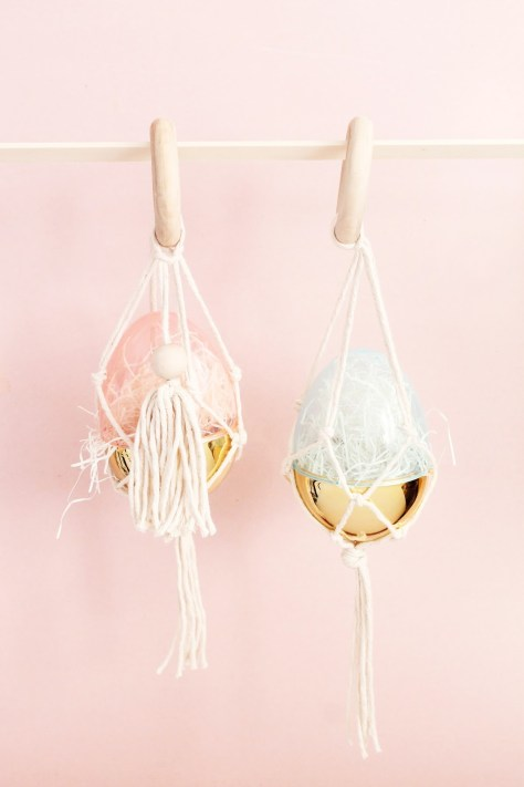 Macrame Easter Eggs