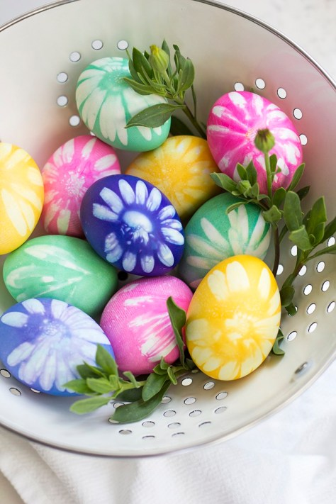 Flower Easter Eggs