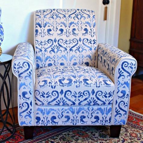 DIY Stenciled Chair