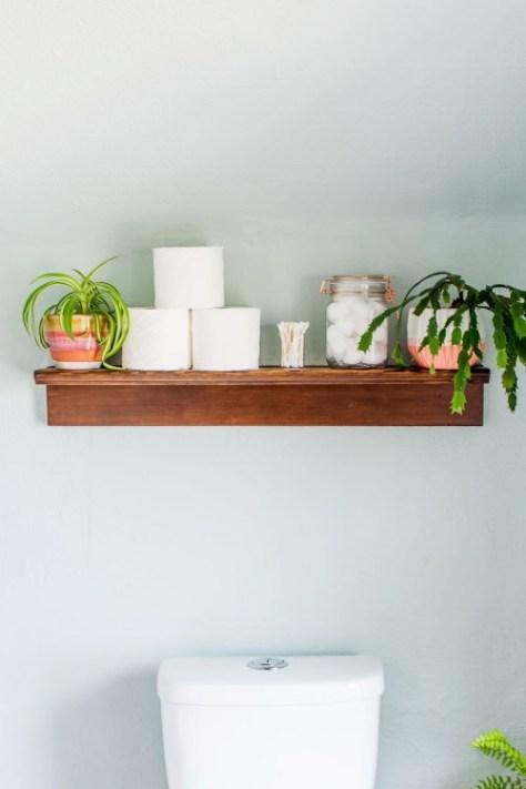 DIY Shelf Ledge
