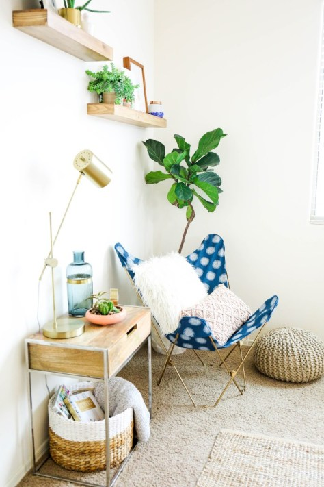 DIY Butterfly Chair Makeover