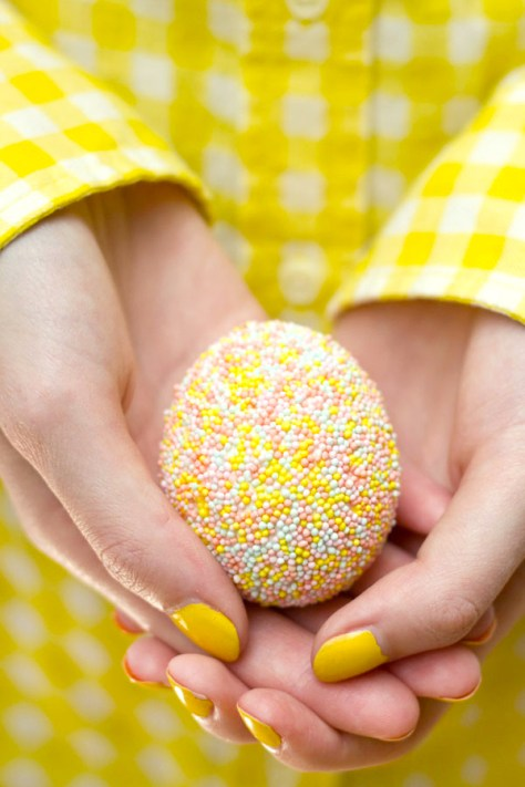 Sprinkle Easter Eggs