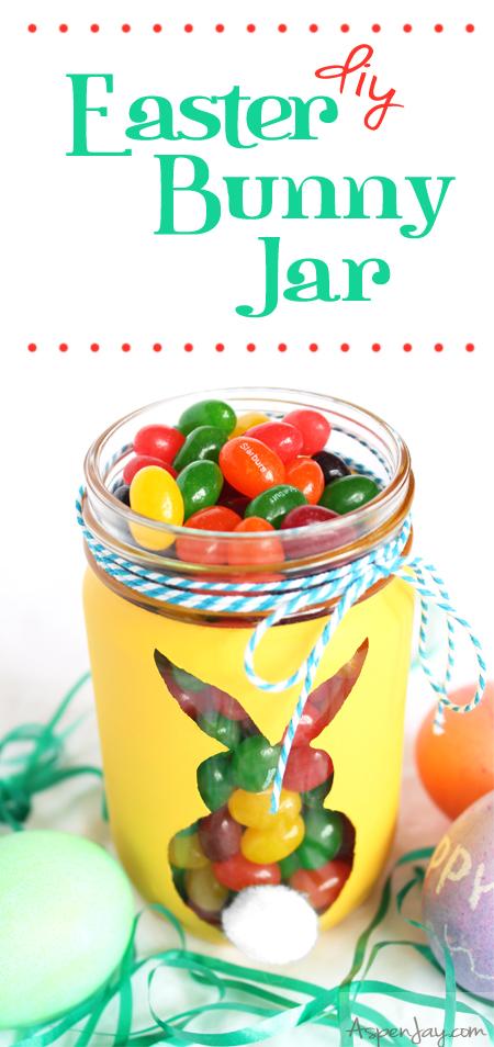 DIY Easter Bunny Jar