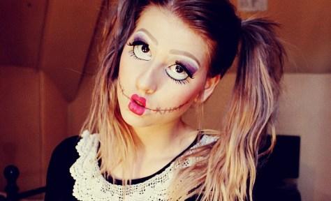 Doll Halloween Makeup