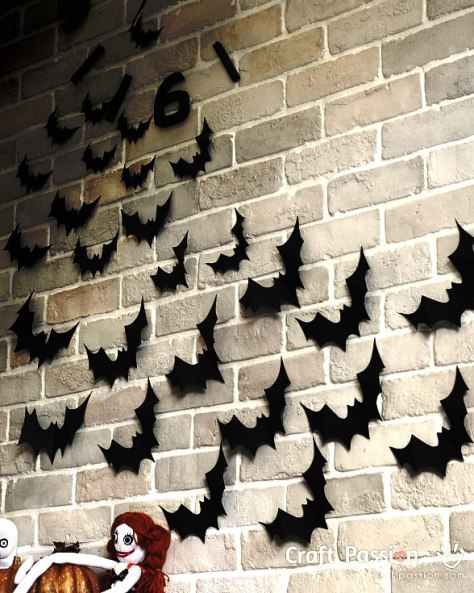 Bats Halloween Decorations