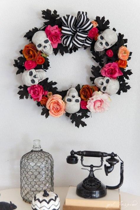Halloween Wreath Decorations