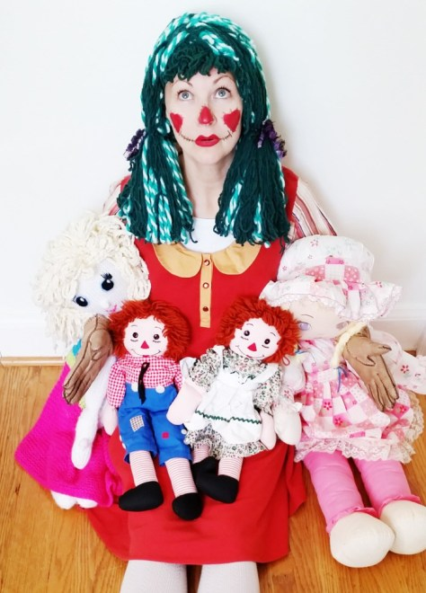 Doll Scarecrow Costumes