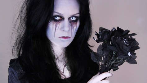 Zombie Bride Halloween Makeup