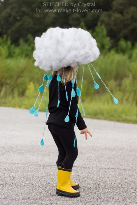 Rain Cloud Halloween Costume