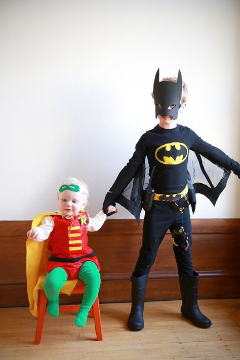 Batman and Robin Halloween Costumes