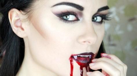 Gothic Vampire Makeup