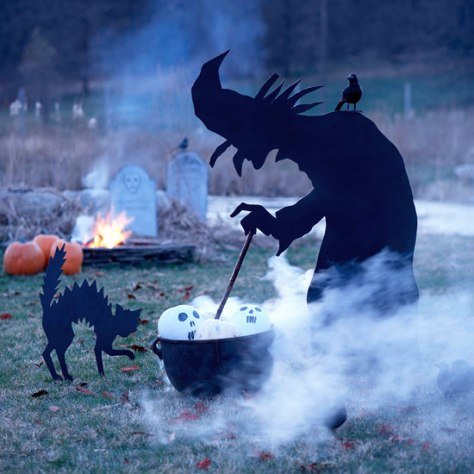 Outdoor Witch Decor