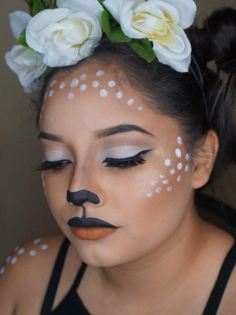 Bambi Deer Halloween Makeup