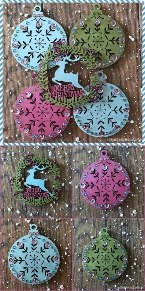 Folk Art Ornaments