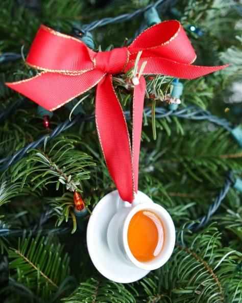 Cup of Tea Ornaments