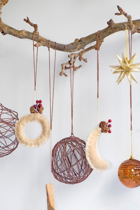 Balls of Wool Ornaments