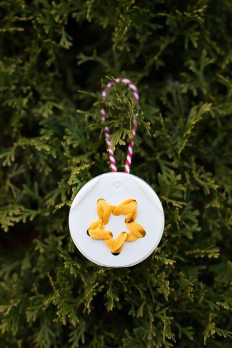 Lid Star Ornaments